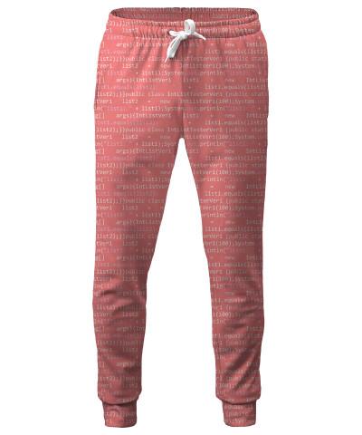 GEEK CODE PINK Sweatpants