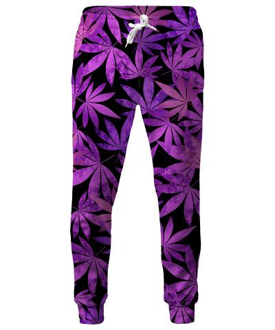 PURPLE WEED Sweatpants