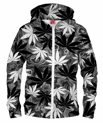 Bluza z zamkiem BLACK AND WHITE