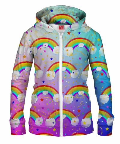Damska bluza z zamkiem RAINBOW DREAMS