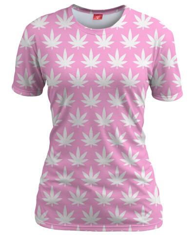 Koszulka damska KAWAII CANNABIS