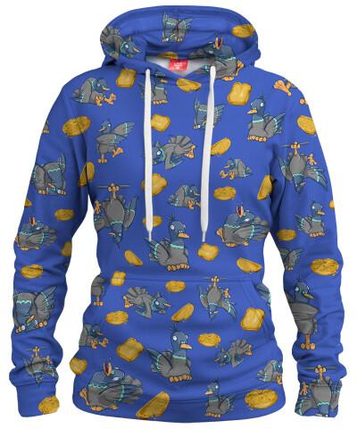 PIGEONS LUNCH Womens hoodie
