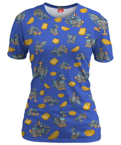 Koszulka damska PIGEONS LUNCH