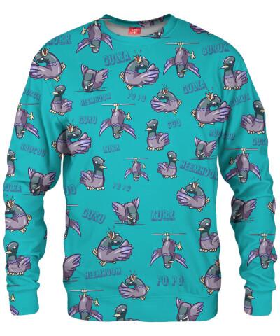 PIGEON PATTERN Sweater