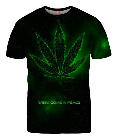 Koszulka PEACE AND WEED