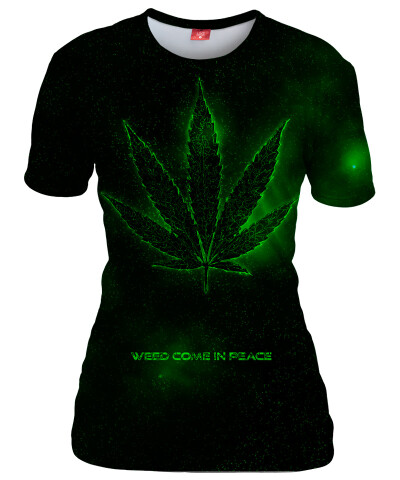 Koszulka damska PEACE AND WEED