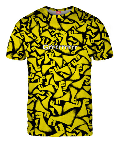 YELLOW AND BLACK T-shirt