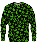 WEED PATTERN Sweater