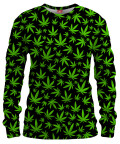 WEED PATTERN Womens sweater