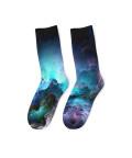 UNREAL STORMY OCEAN Socks
