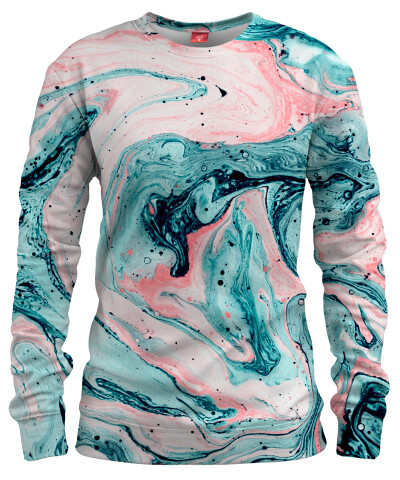 MARBLED TIDE Womens sweater