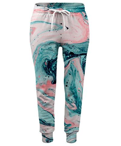 MARBLED TIDE Womens sweatpants