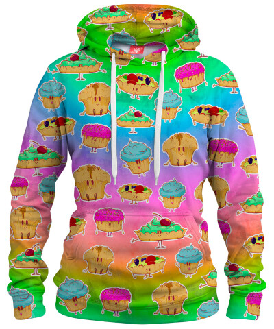 MUFFINS PATTERN Womens hoodie