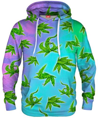 Bluza z kapturem WEED VIBE