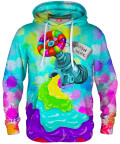 Bluza z kapturem RAINBOW SPLASH