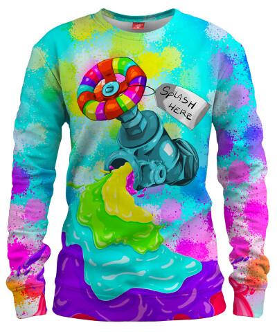 RAINBOW SPLASH Womens sweater
