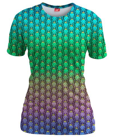 BUNNIES Womens T-shirt