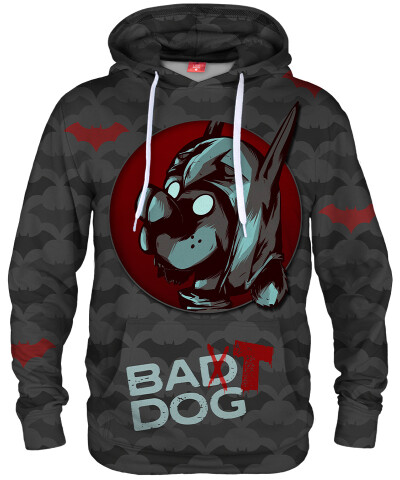 Bluza z kapturem BAT DOG