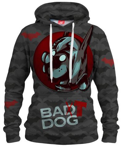 BAT DOG Womens hoodie