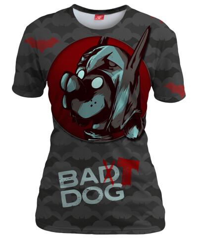 BAT DOG Womens T-shirt