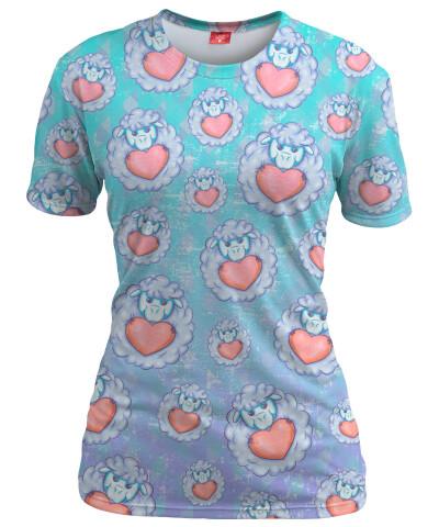 Koszulka damska LOVELY SHEEPS