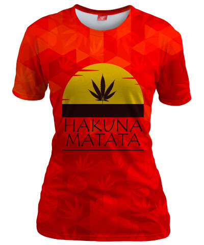 HAKUNA MATATA Womens T-shirt