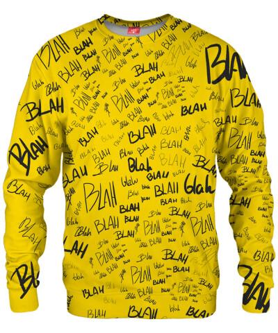 YELLOW BLAH Sweater
