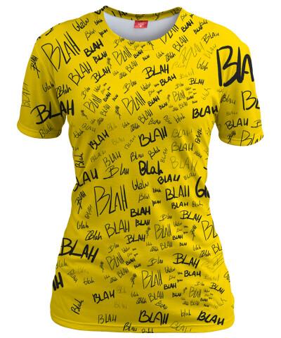 Koszulka damska YELLOW BLAH