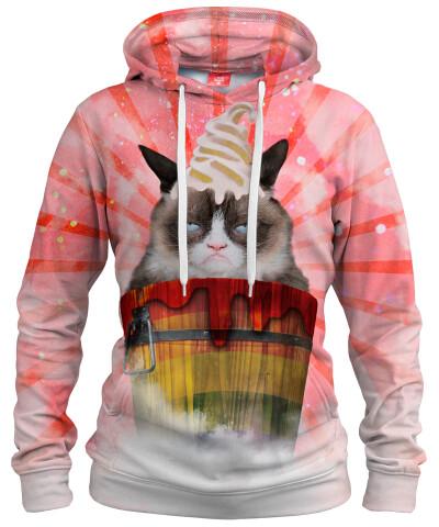 GRUMPY CAT Womens hoodie