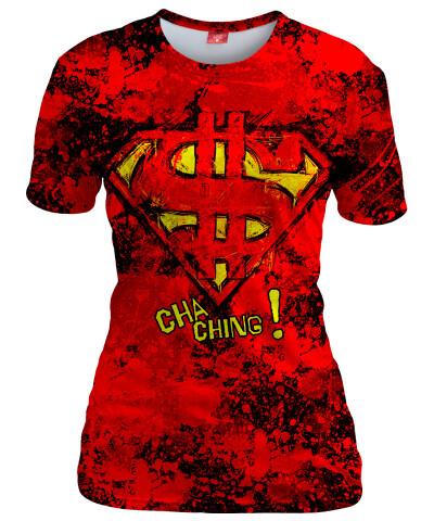 $UPER DOLLAR Womens T-shirt