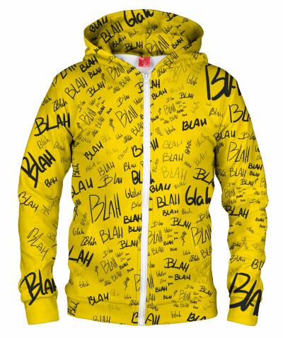 Bluza z zamkiem YELLOW BLAH