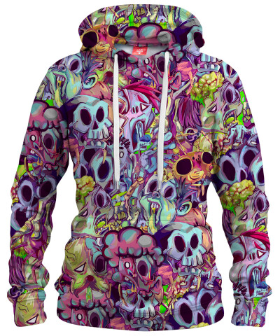 CANDY ZOMBIE Womens hoodie