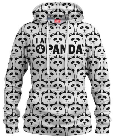 I AM PANDA Womens hoodie
