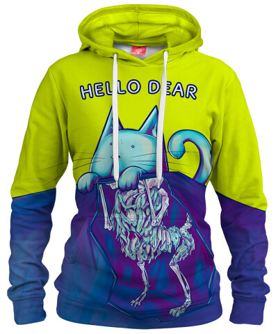 HELLO DEAR Womens hoodie
