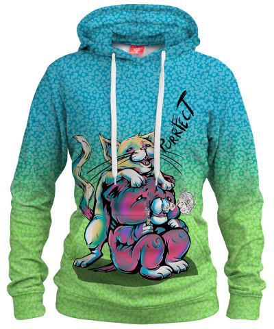 PURRFECT Womens hoodie