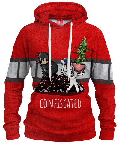 CONFISCATED Womens hoodie