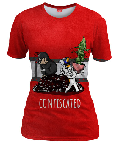 CONFISCATED Womens T-shirt