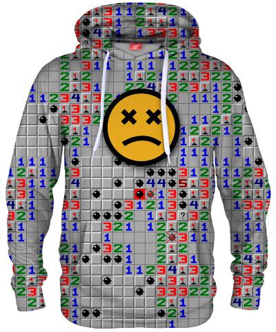 Bluza z kapturem GAME OVER