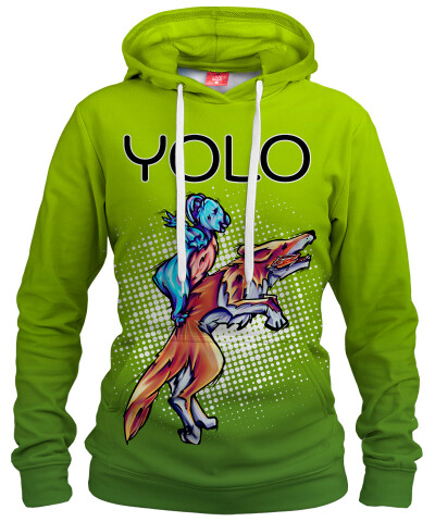 YOLO Womens hoodie