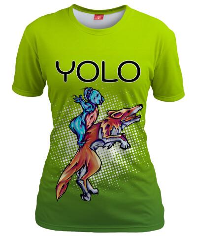 Koszulka damska YOLO