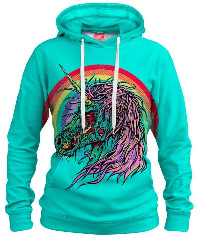 UNICORN ZOMBIE Womens hoodie