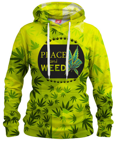 Damska bluza z kapturem V-WEED