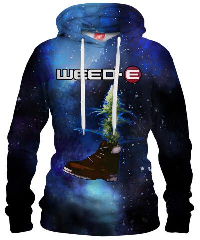 Damska bluza z kapturem GALAXY WEED-E