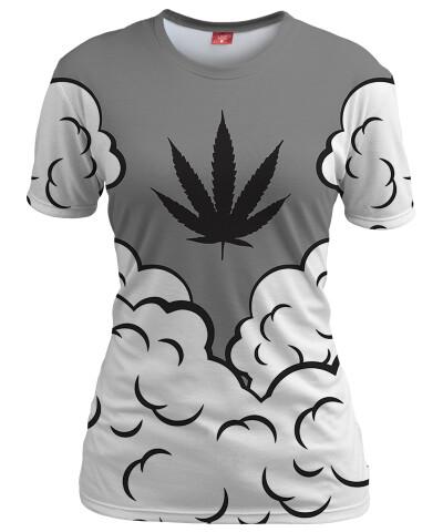 Koszulka damska SMOKE WEED
