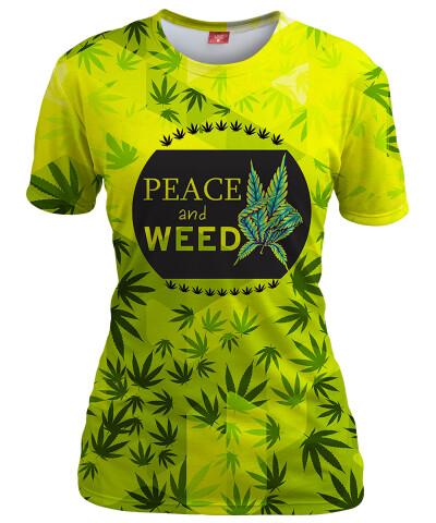 Koszulka damska V-WEED
