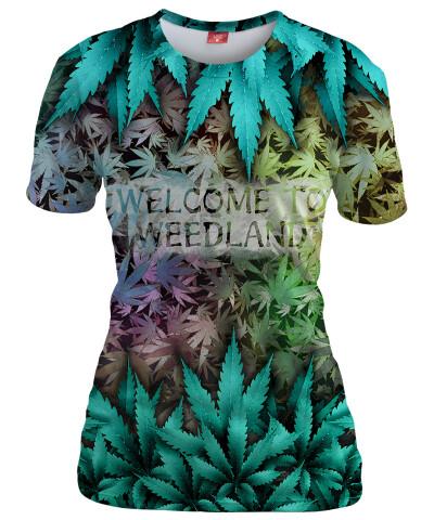 Koszulka damska WELCOME TO