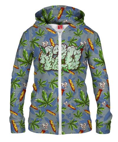 Damska bluza z zamkiem 420 CARTOON