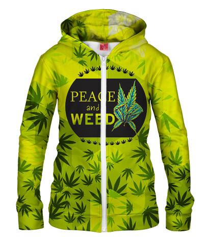 Damska bluza z zamkiem V-WEED