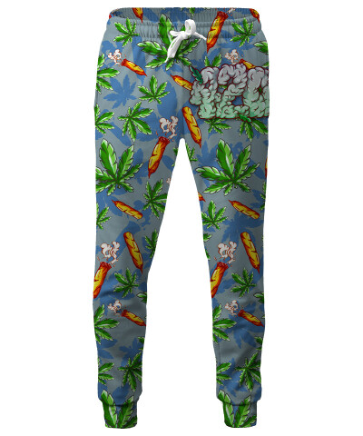 420 CARTOON Sweatpants