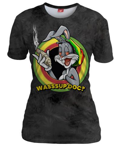 Koszulka damska WASSSUP DOC? GREY